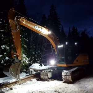 Excavatrice Case 2017