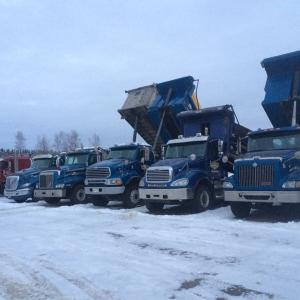 Camions de récupération de neige